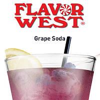 """Ароматизатор """"Виноградная газировка"""" Flavor West Grape Soda"""