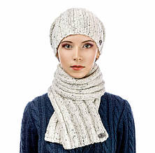 Комплект Atrics WK-504 шапка шарф