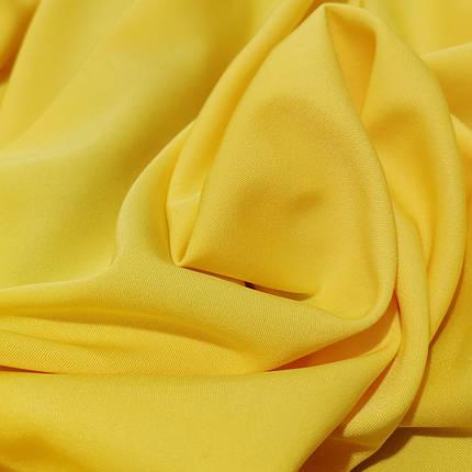 Костюмная ткань мадонна желтая, фото 2