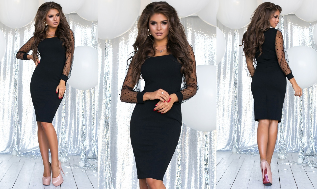 995beea1794 Элегантное вечернее женское платье средней длины 1148