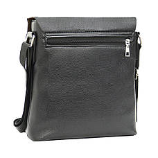 Мужская сумка B.N.S.DAISHU мессенджер 25х26х7 вертикальная экокожа м 753-2ч, фото 3