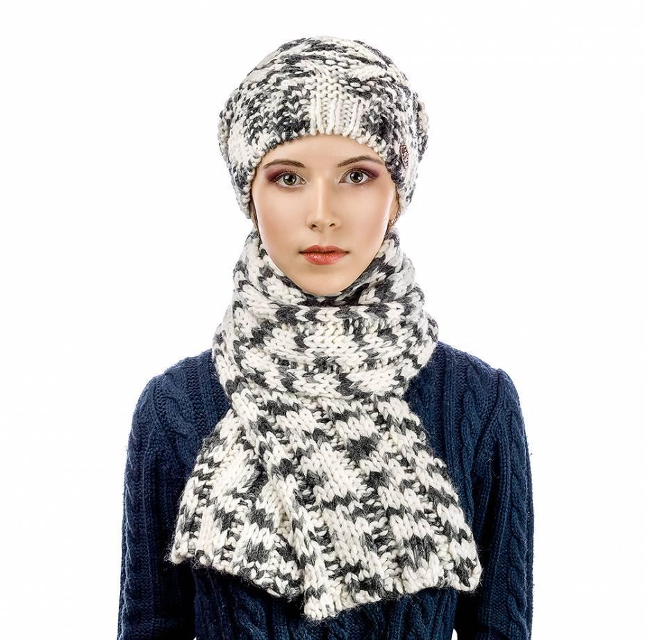 Комплект Atrics WK-553 шапка шарф
