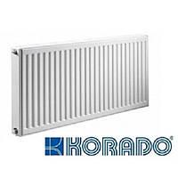 Радиатор стальной Korado Radik Ventil kompakt 11тип 500х500 - Нижнее подключение