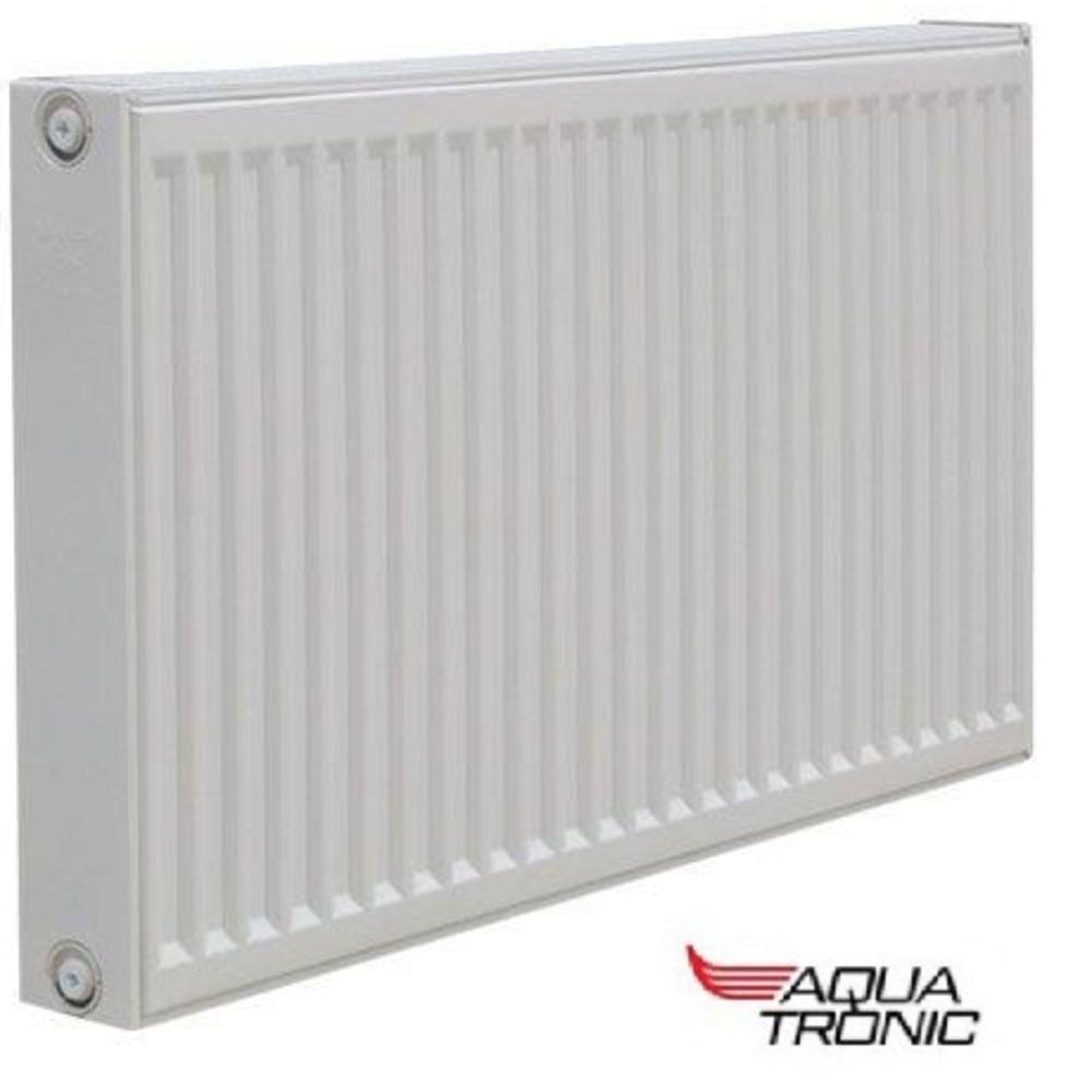Радиатор стальной Aqua Tronic тип 22 K 300x1100 - Боковое подключение