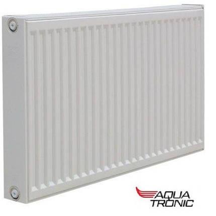 Радиатор стальной Aqua Tronic тип 22 K 300x1100 - Боковое подключение, фото 2
