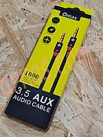 Aux 3.5 аудио кабель Qmax (4-10)