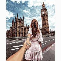 Картина для рисования Следуй за мной Лондон 40 х 50 см, Без Коробки, фото 1