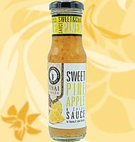Соус Солодкий Чилі з Ананасом, Thai Dancer, Sweet Pineapple & Chili Sauce, без глютену, 150 мл, Дж