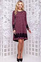Платье 12-1042 - марсала: М L XL XXL, фото 1