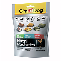 Лакомство для собак GimDog Nutri Pockets Mix 150 г (ассорти), G-509631