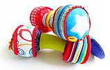 Мягкие гантели для малышей. Иргушка погремушка. Jjovce, фото 4