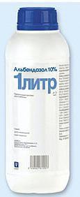 Альбендазол 10%, 1л