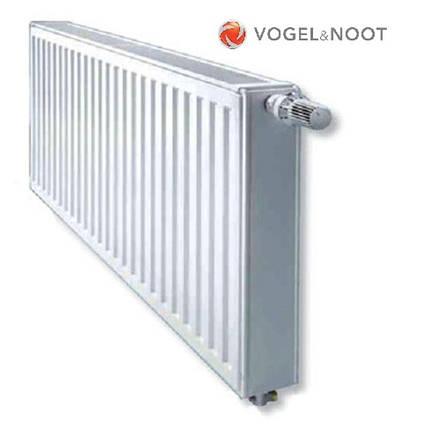 Радиатор стальной Vogel&Noot KV 11тип 300х1200 - Нижнее подключение, фото 2