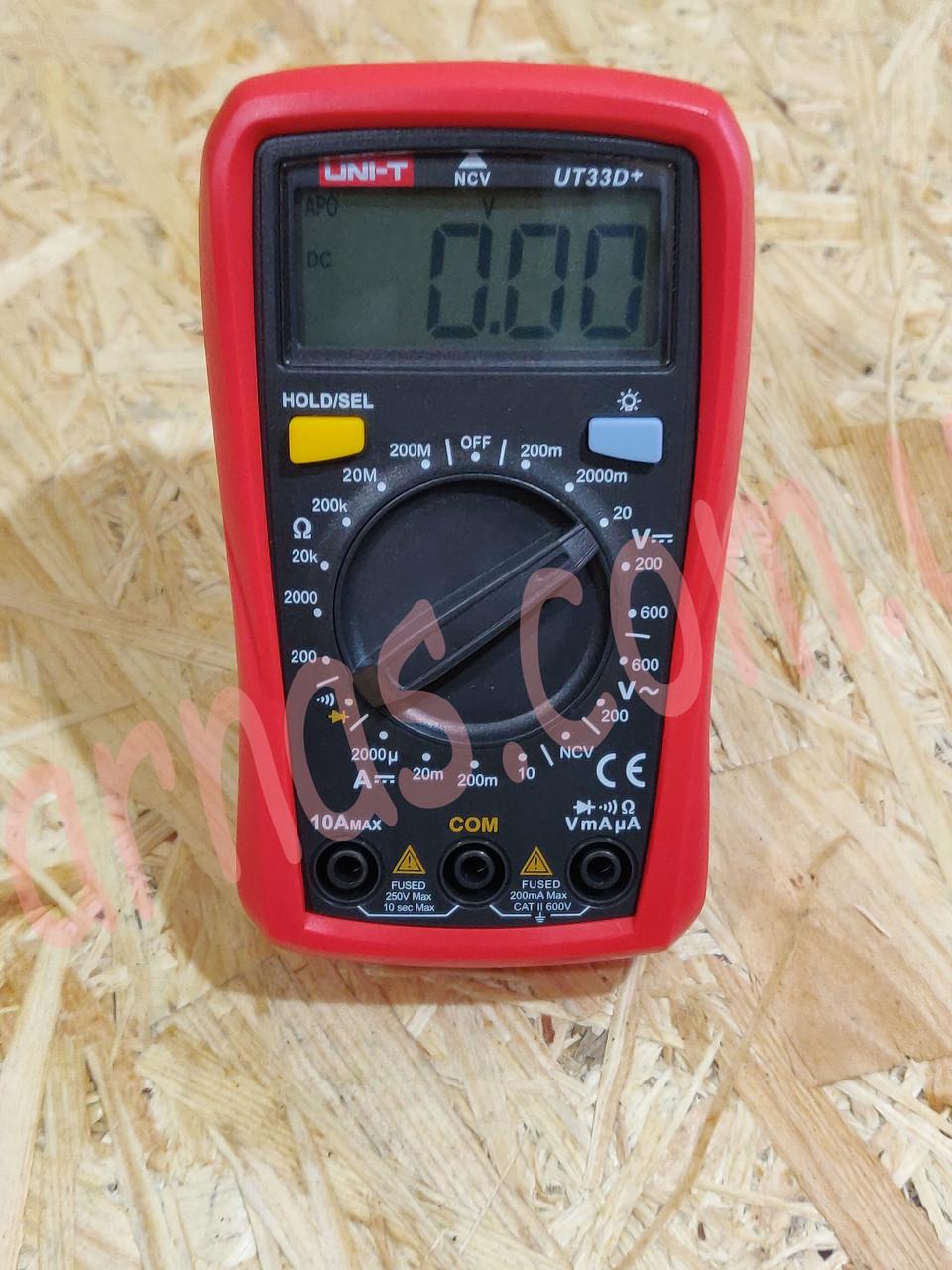 Мультиметр Uni-t UT33D+ цифровой