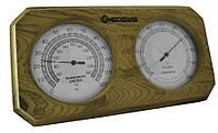 Термо-гигрометр Greus 26х14 кедр