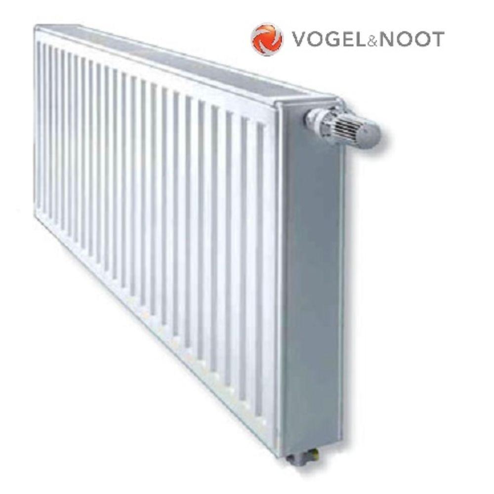 Радиатор стальной Vogel&Noot KV 22тип 600х400 - Нижнее подключение