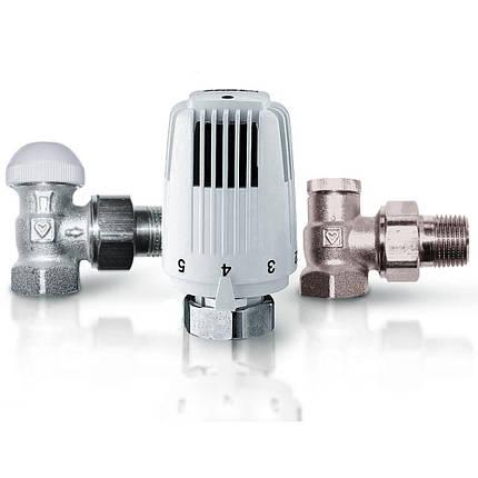 Термостатический комплект CLASSIC угловой 1/2, HERZ, фото 2