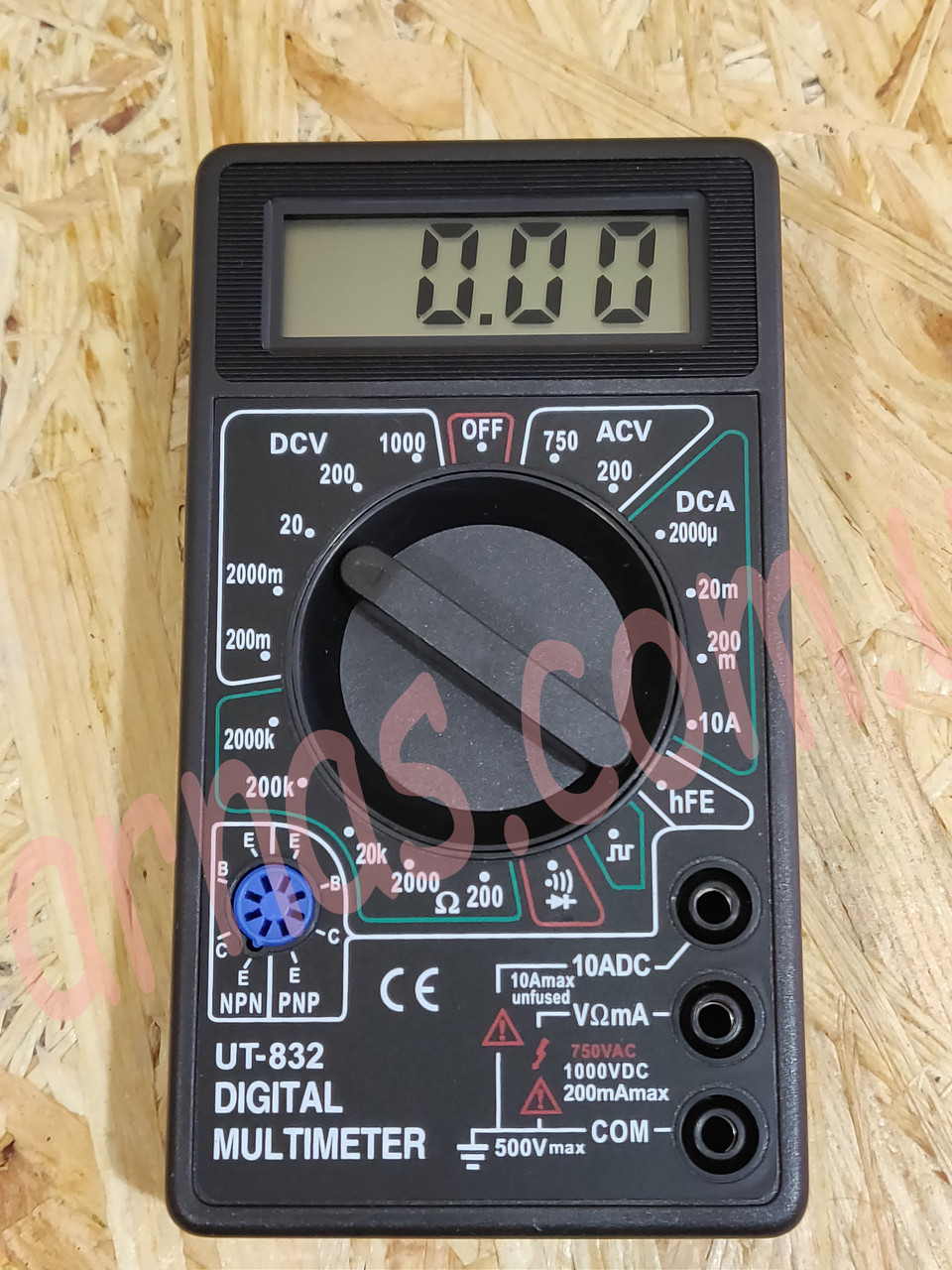 Мультиметр (тестер) UT-832 цифровой