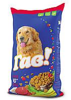 ГАВ  сухой корм для взрослых собак c телятиной и рисом, 10 кг