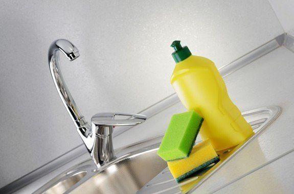 Для мытья посуды и чистки кухни