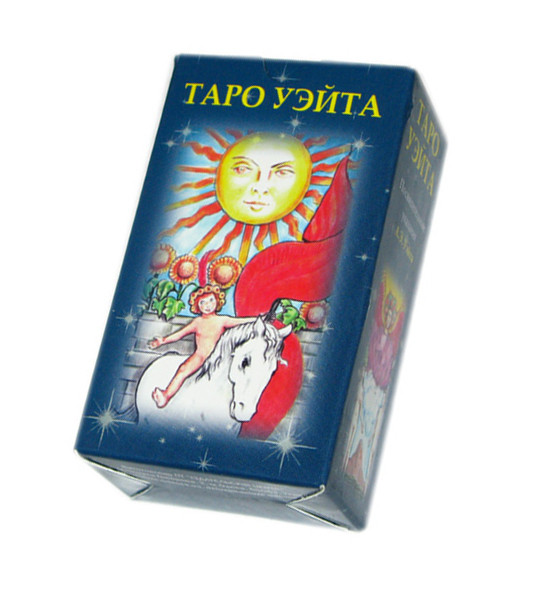 Райдужне Таро Уейта міні 7,5 х 4,5 ( ukraine )