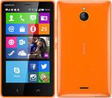 Nokia_X2, глянцевая пленка Dual Sim, фото 2