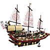 """Конструктор """"NINJA Летающий корабль мастера Ву"""" Bela 10723 2363 деталей, фото 3"""