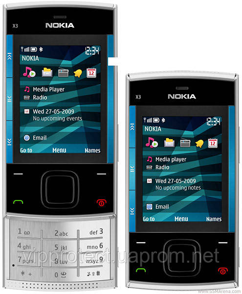 Nokia_X3, матова плівка