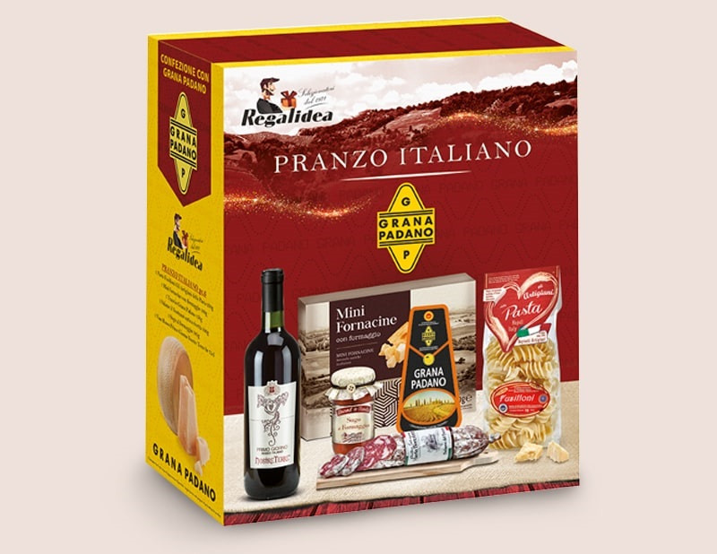 Праздничный новогодний набор Pranzo Italiano Regalidea, Италия
