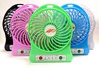 Портативный usb мини-вентилятор (белый)