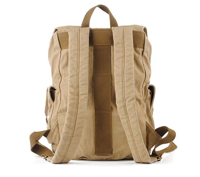 Большой городской рюкзак вид сзади
