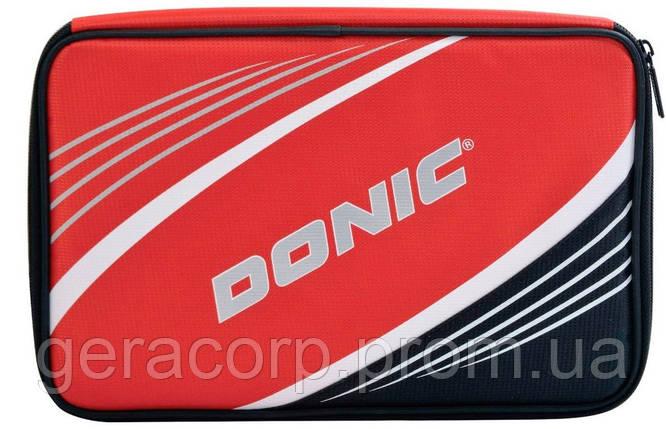 Чехол для 2 ракеток Donic Schildkrot Salo Plus red, фото 2