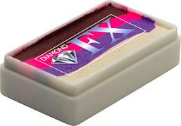 Аквагрим Diamond FX cплит кейк 28 g Неоновая Роза