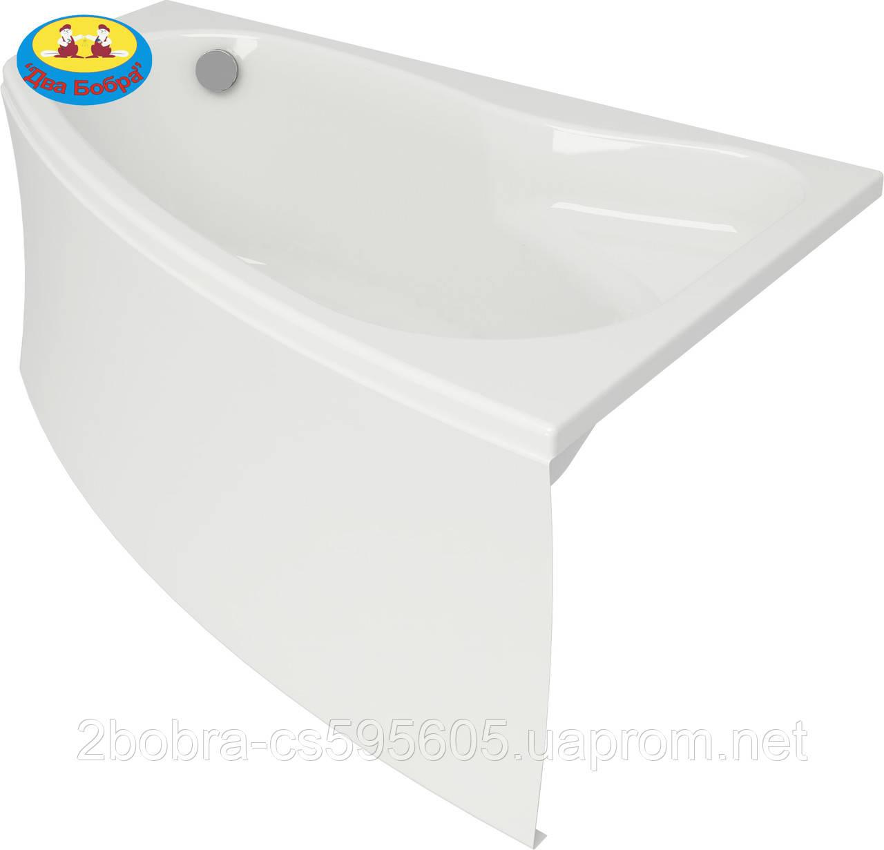 Ванна Акрилова Асиметрична Кутова Sicilia New | 170x100 | Cersanit