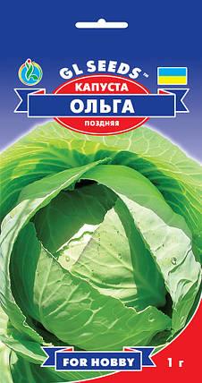 Капуста Ольга, пакет 1 г - Семена капусты, фото 2