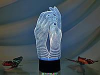 """Сменная пластина для 3D светильников """"Маникюр"""" 3DTOYSLAMP, фото 1"""