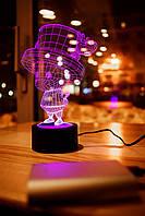 """Сменная пластина для 3D светильников """"Тони Тони Чоппер"""" 3DTOYSLAMP, фото 1"""
