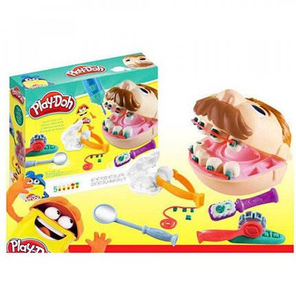 Пластилин Play-Doh Стоматолог Мистер Зубастик аналог, фото 2