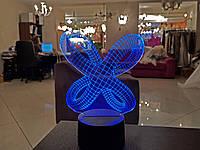 """Сменная пластина для 3D светильников """"Цикличность"""" 3DTOYSLAMP, фото 1"""
