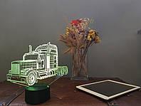"""Сменная пластина для 3D светильников """"Автомобиль 13"""" 3DTOYSLAMP, фото 1"""