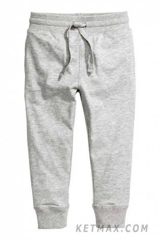 Тонкие спортивные штаны (джоггеры) H&M для мальчика, фото 2