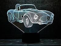 """Сменная пластина для 3D светильников """"Автомобиль 31"""" 3DTOYSLAMP, фото 1"""