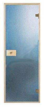 Дверь для бани и сауны ПАЛ 80х190 blue
