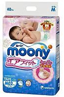 Подгузники Moony M 6-11 кг 62 шт
