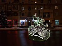 """Сменная пластина для 3D светильников """"Велосипед 3"""" 3TOYSLAMP, фото 1"""