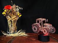 """Сменная пластина для 3D светильников """"Трактор"""" 3DTOYSLAMP, фото 1"""