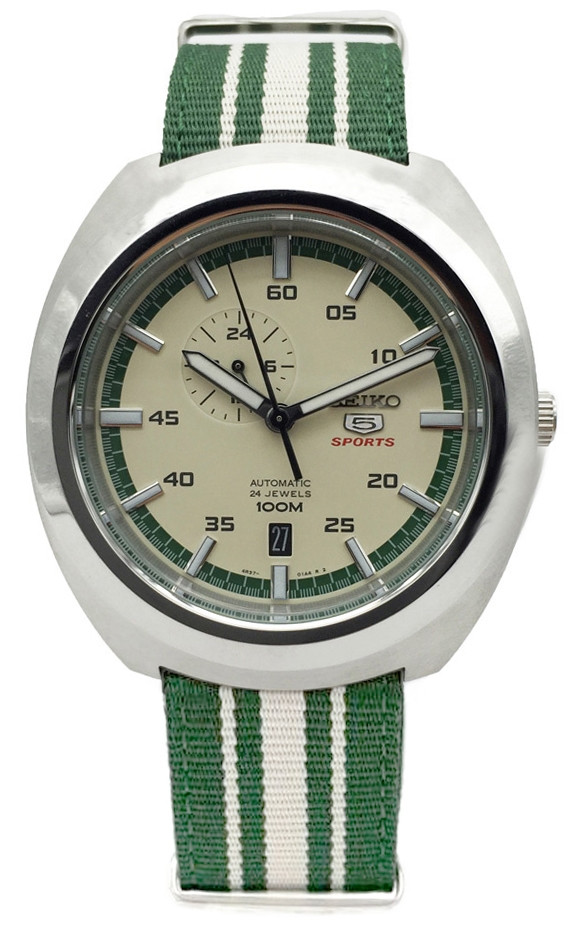 Часы Seiko 5 Sports Retro SSA285K1 Automatic 4R37