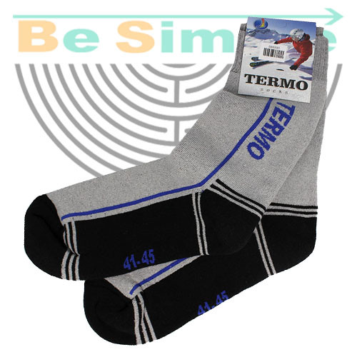 Термоноски TERMO socks. Мужские шерстяные носки 41-45