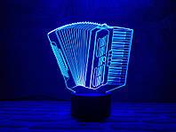 """Сменная пластина для 3D светильников """"Баян"""" 3DTOYSLAMP, фото 1"""