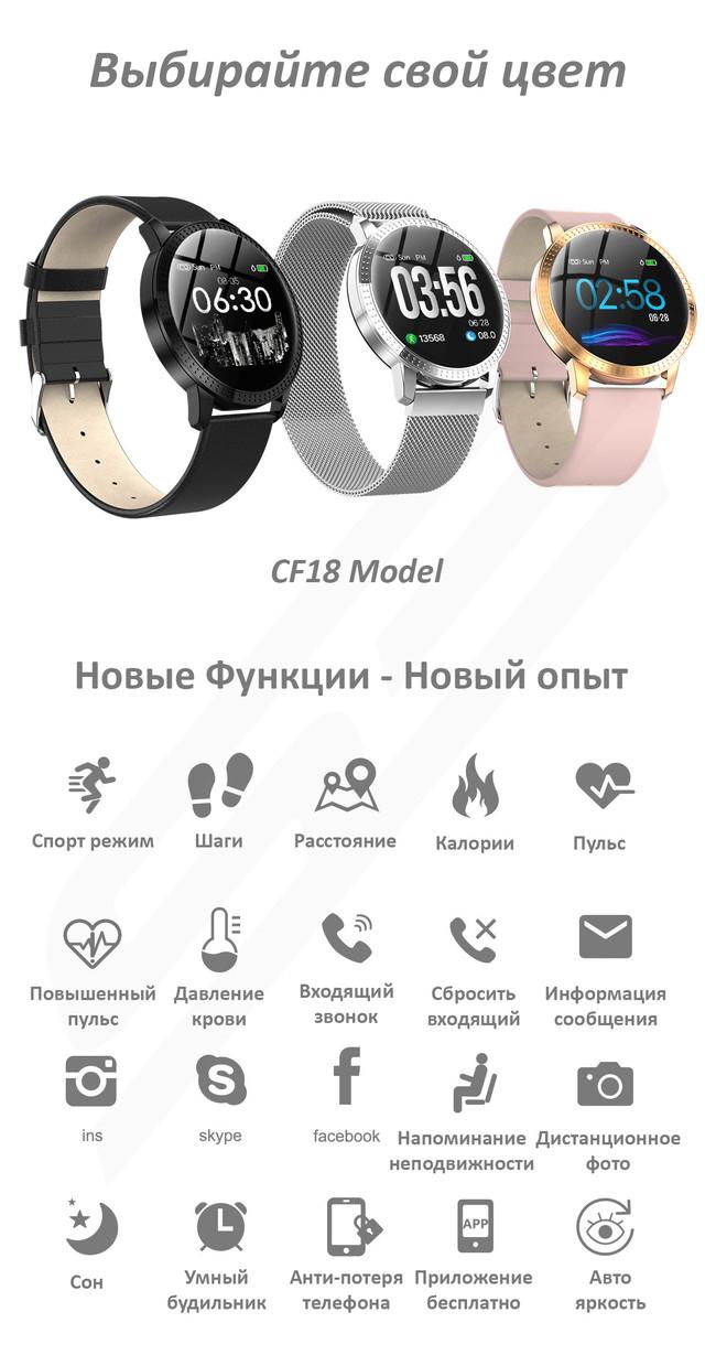 часы с давлением крови cf18